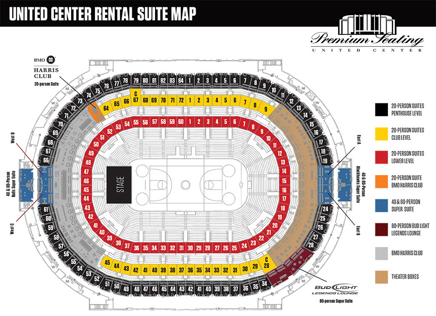 Rental Suite Map