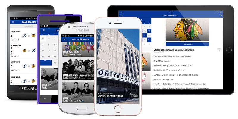 United Center Mobile App United Center