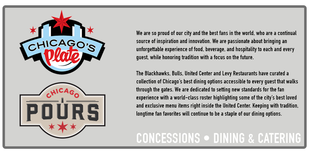 Dining Catering Venue Info United Center