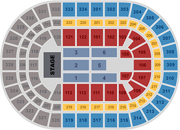 Rod Stewart Seating Chart