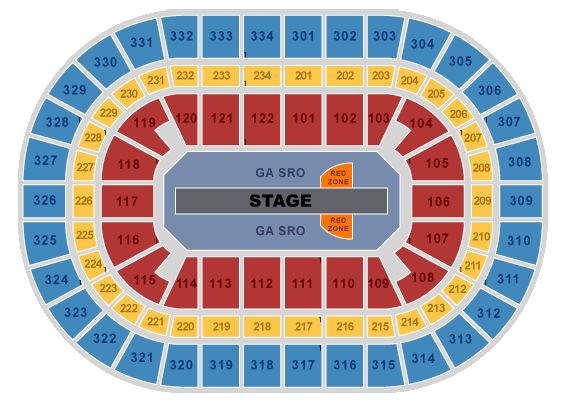 Chicago Seating Chart U2 Feedback