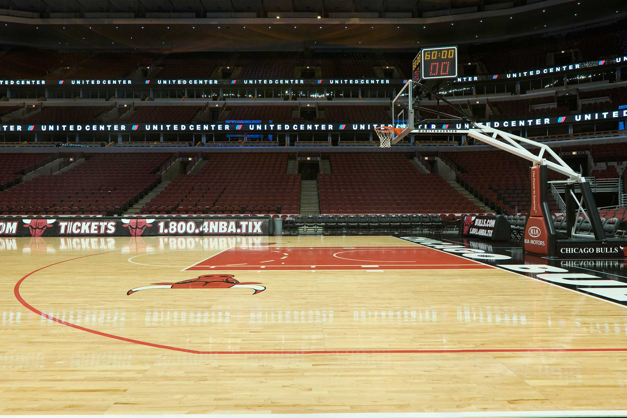 empty nba basketball court wwwpixsharkcom images