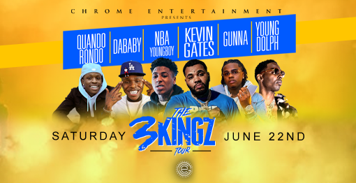 The 3Kingz Tour - June 22, 2019 - CANCELLED | United Center
